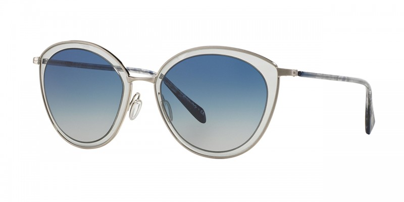 OLIVER PEOPLES GWYNNE brushed silver