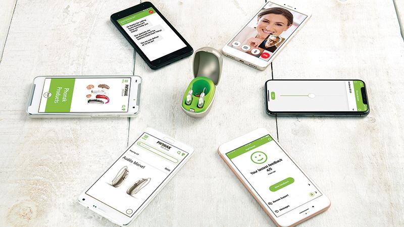 phonak smartphone conectividad