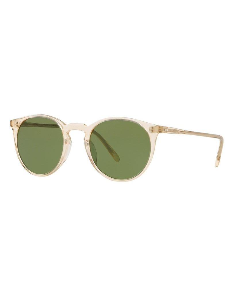 Oliver Peoples O'Malley Sun Buff Green C 3q