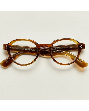moscot ezra dark honey blonde