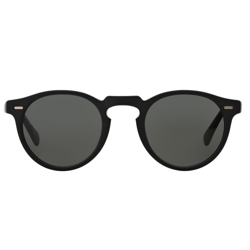 Oliver Peoples Gregory Peck Black polar