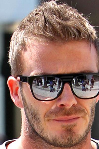 Beckham with flat top