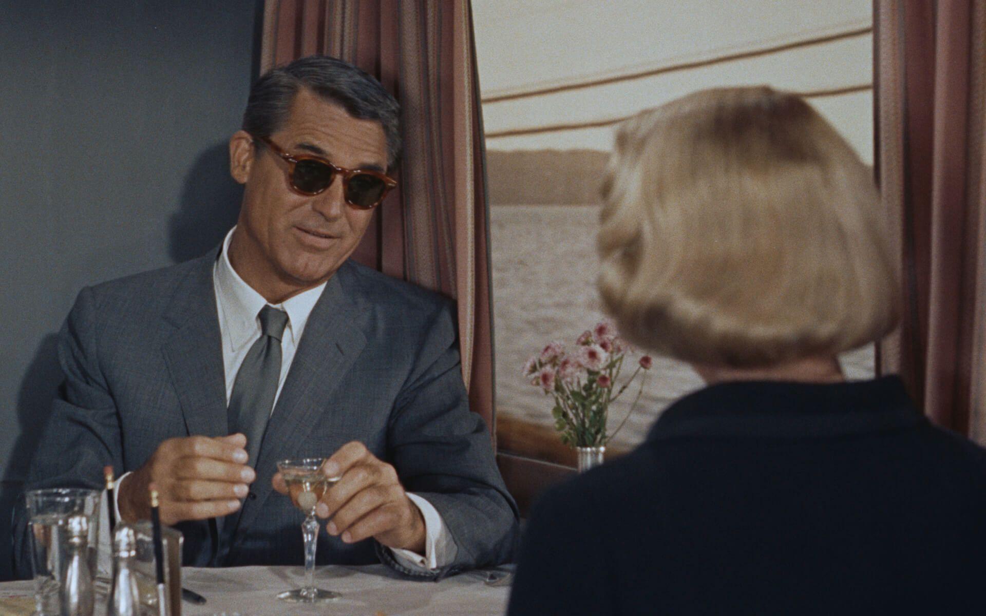 Cary Grant en Con la muerte en los talones