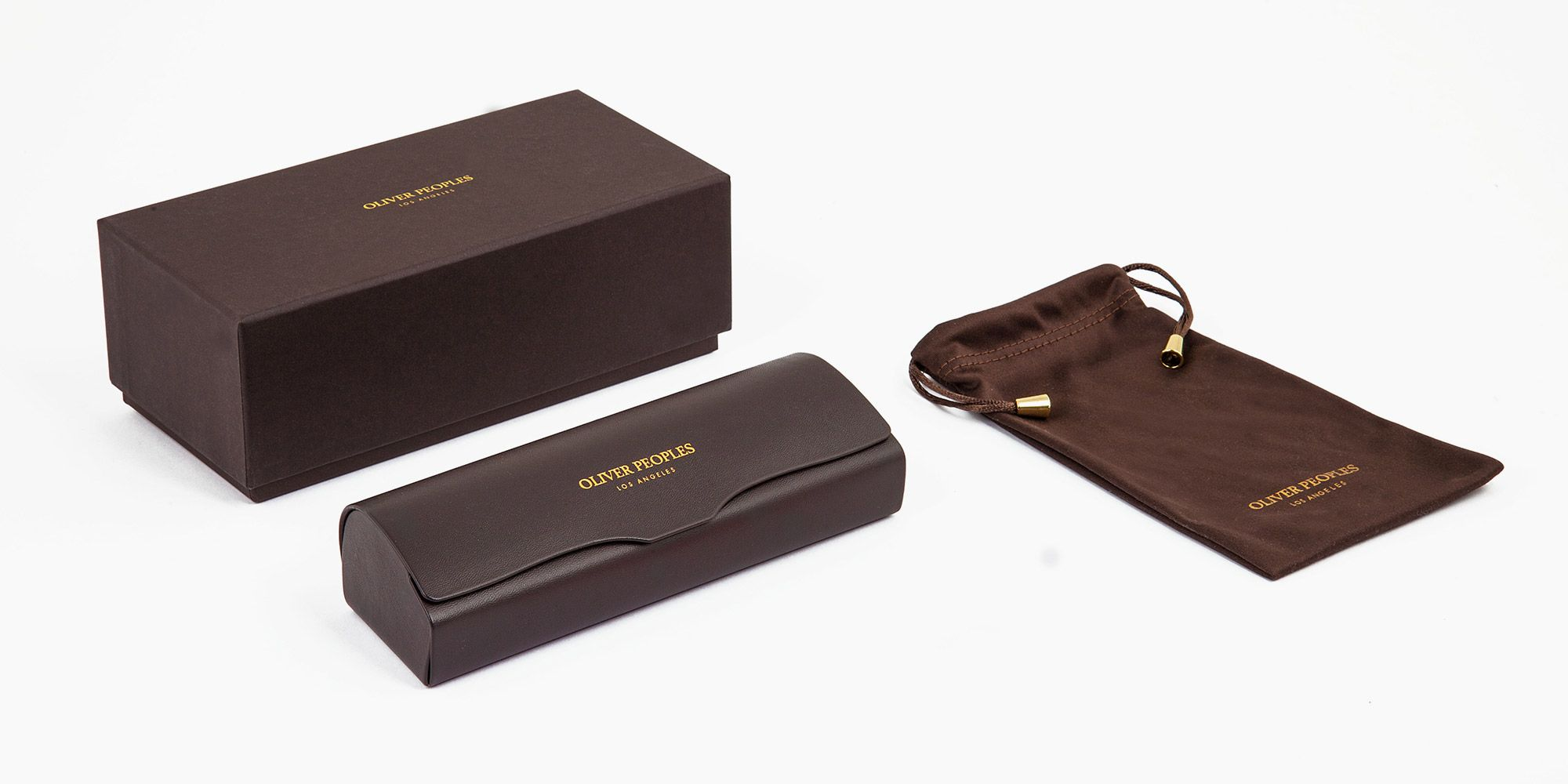 packaging Oliver Peoples Gregory Peck