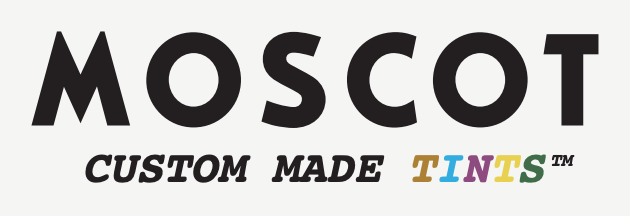 Moscot custom tints